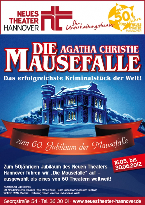 Neues Theater – Die Mausefalle